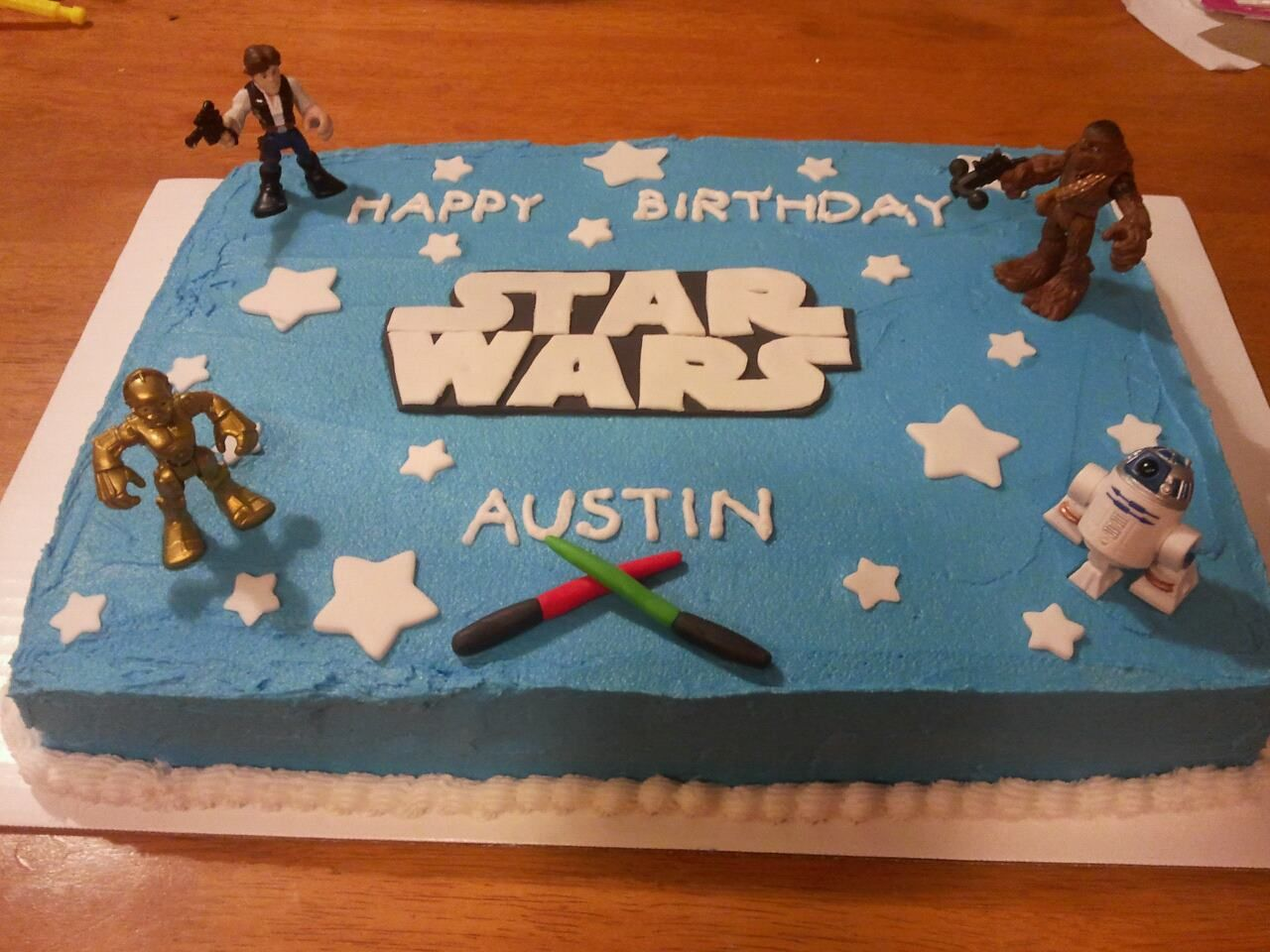 Star Wars Cake Star Wars Birthday Cake Star Wars Cake Toppers