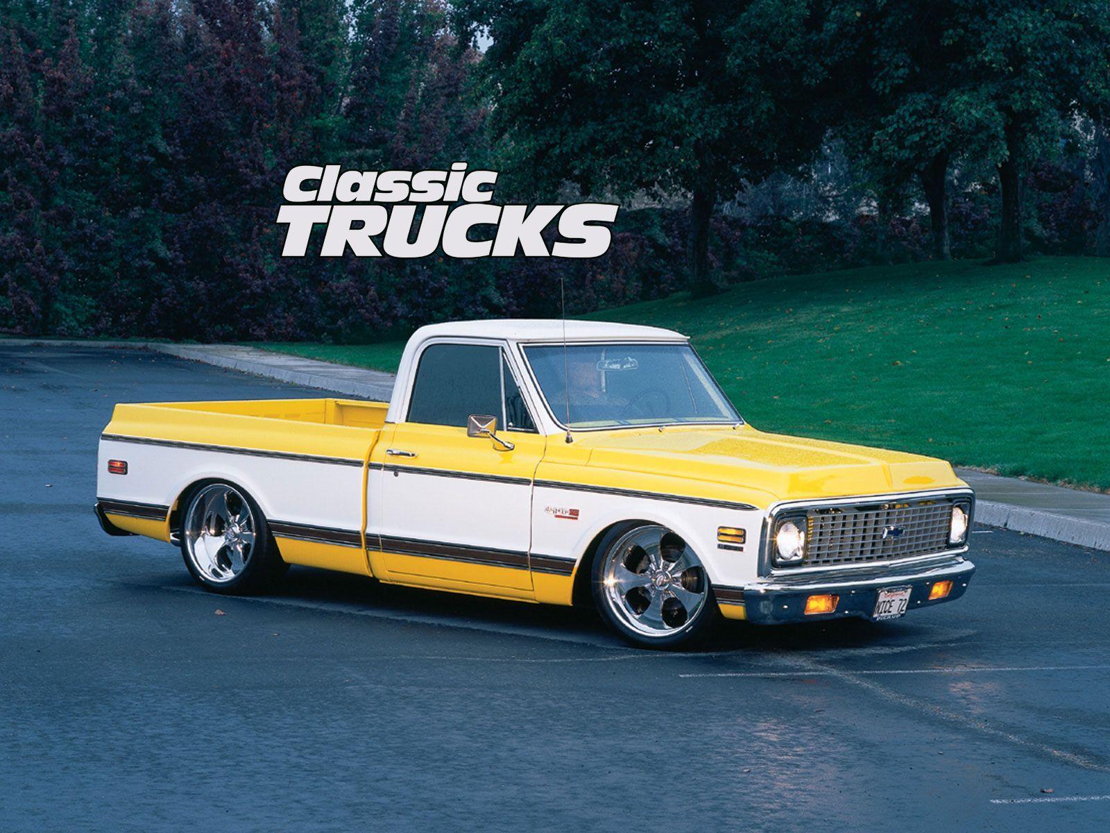 Classic Truck Desktop Wallpapers 1600x1200 Photo 17 Classic Trucks Classic Truck Chevy C10