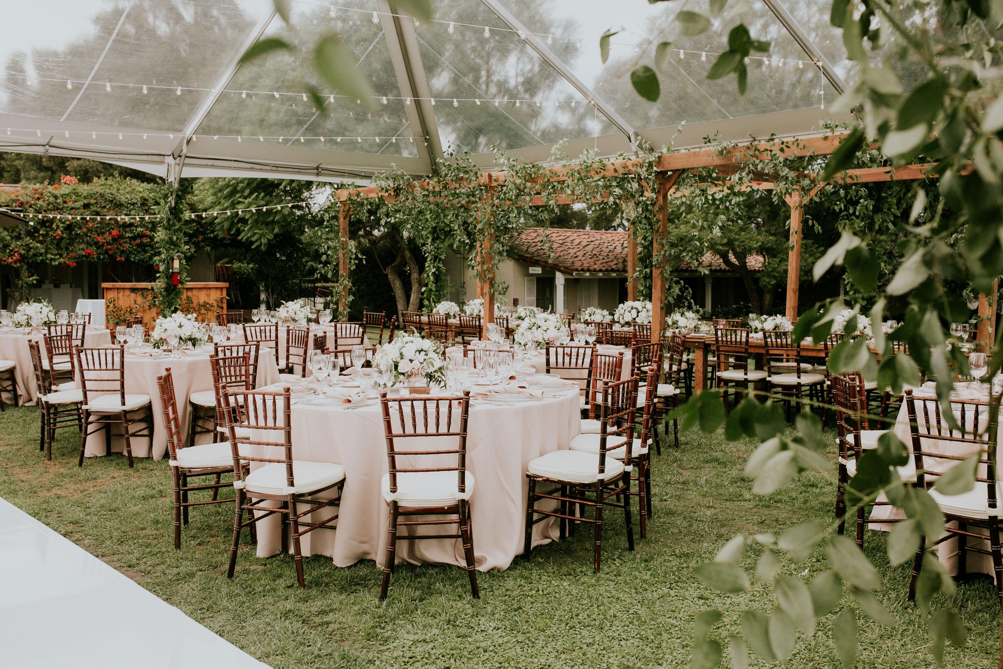 Jason Alexa S Wedding At The Inn At Rancho Santa Fe Wedding Southern California San Diego Botanic Garden Rustic Table Decor
