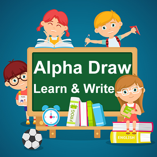 AlphaDraw Learning and Drawing App for Kids Writing
