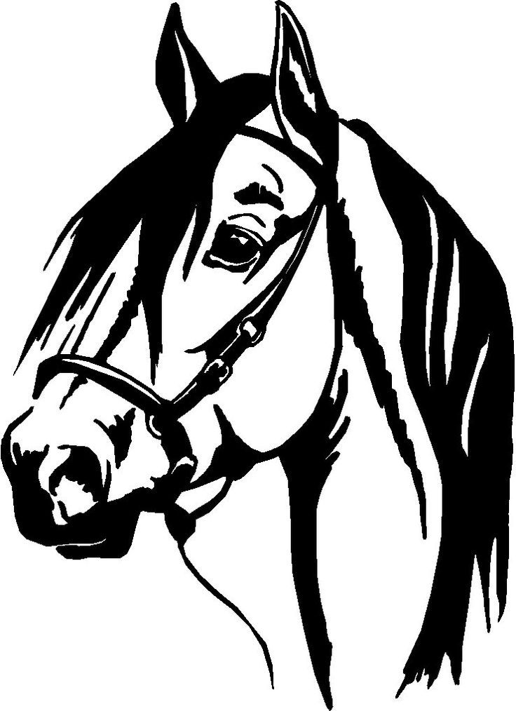 horse wall stickers*vector* | Laser art | Pinterest ...