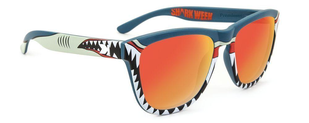 Too funny!  Limited edition Shark Week Knockaround Sunglasses.I do have and love Knockaround sunglasses.