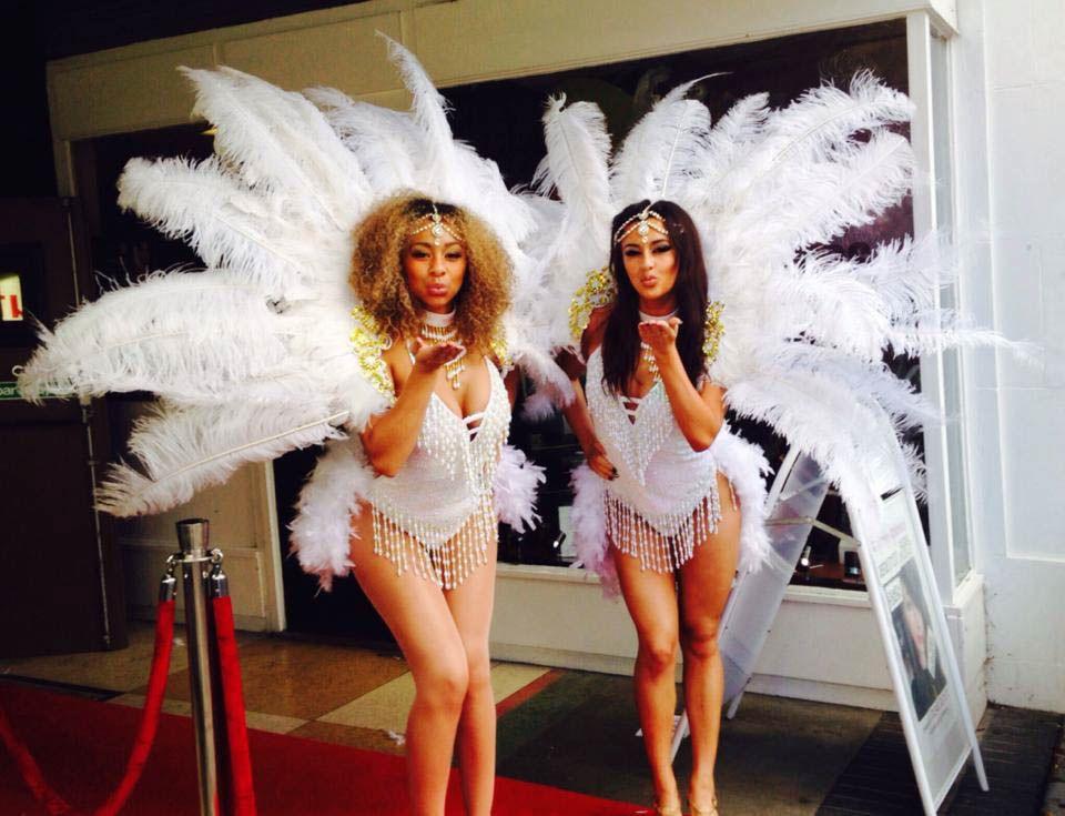 Skinny las vegas showgirls