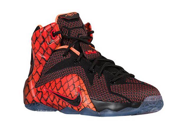 Nike LeBron 12 GS Snake