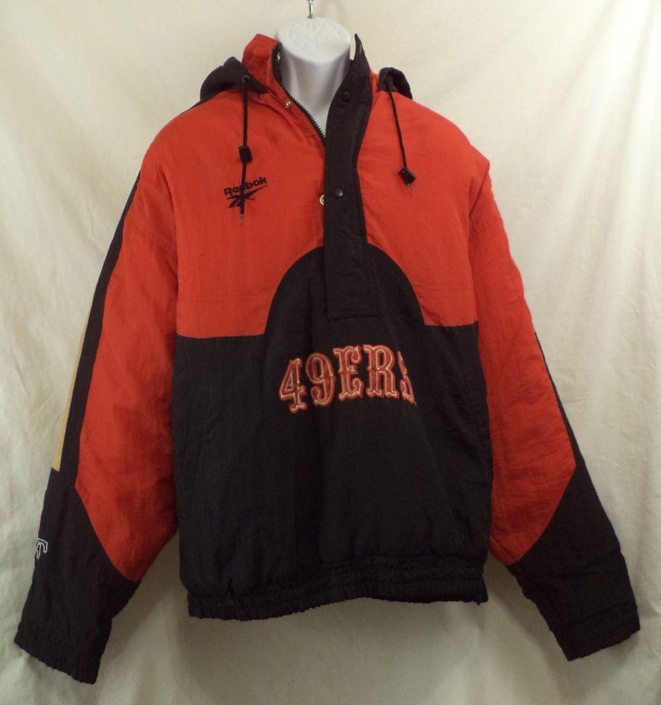 reebok pullover jacket