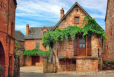 Old Traditional French House