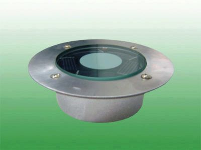Lot de 2 spot encastrés solaire diamètre 97mm - eclairage exterieur detecteur automatique