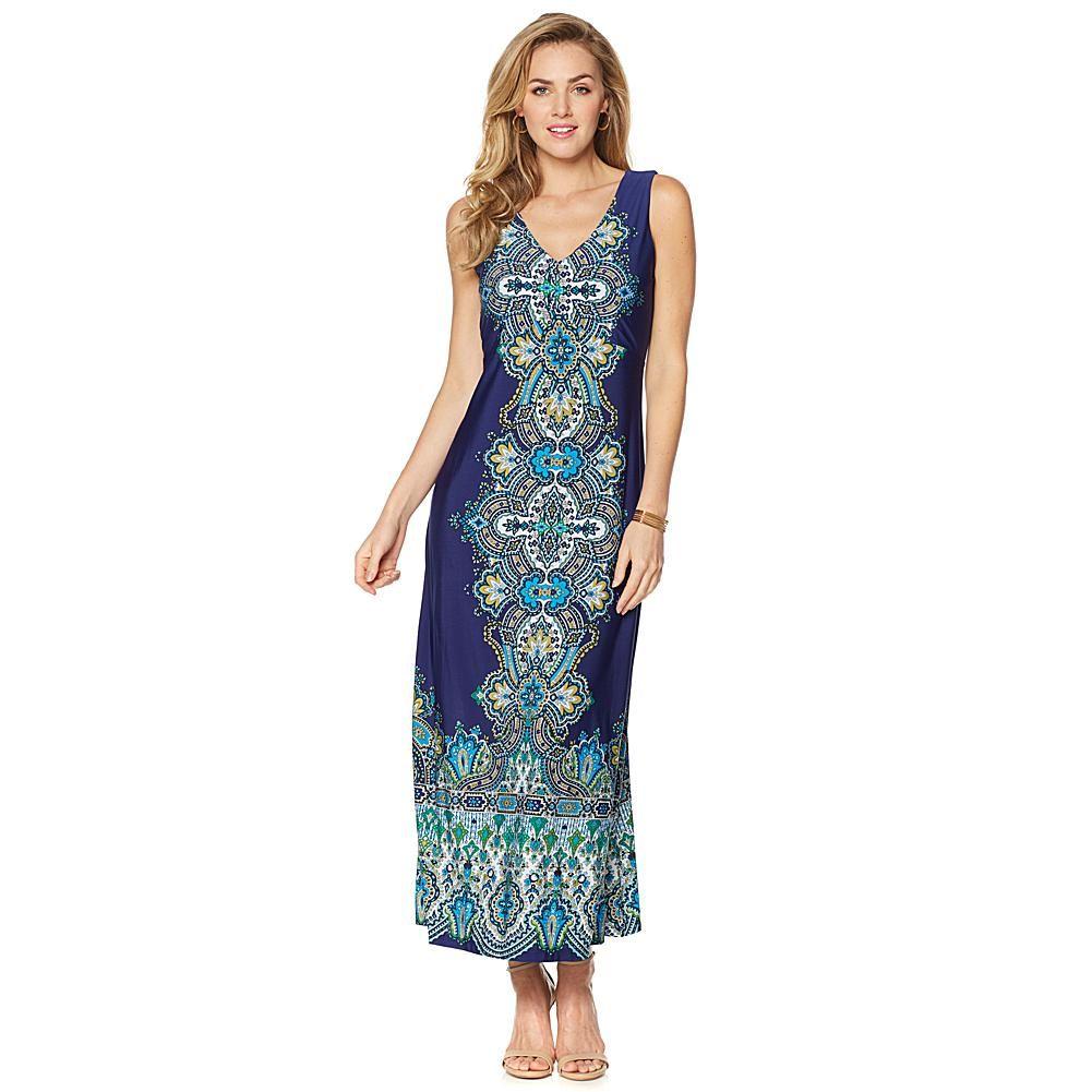 1f091406f Liz Lange Indian Palace-Print Maxi Dress - Crnflwrpslyplcmnt ...
