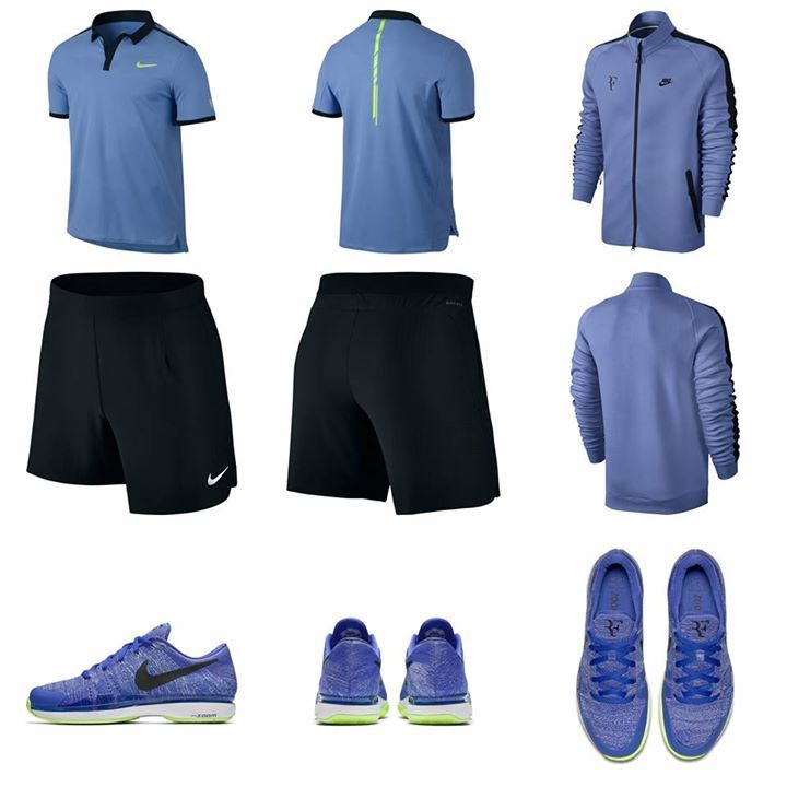 The Outfit Federer Would Be Wearing In Paris But It Ll Be Making An Appearance Soon In Stuttgart And Halle Roger Federer Tennis Players How To Wear