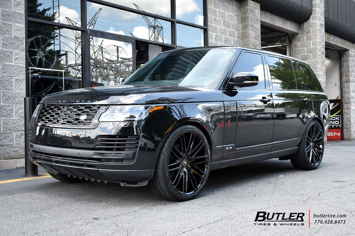 Land Rover Range Rover With 24in Redbourne Royalty Wheels Exclusively From Butler Tires And Wheels In Atlanta Ga Im Range Rover Land Rover Land Rover Models