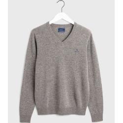 Photo of Gant Superfine Lambswool Sweater (grau) GantGant