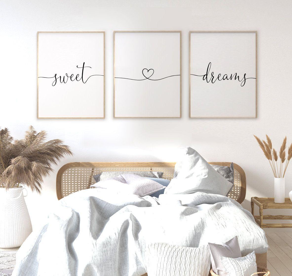 Sweet dreams headboard posters