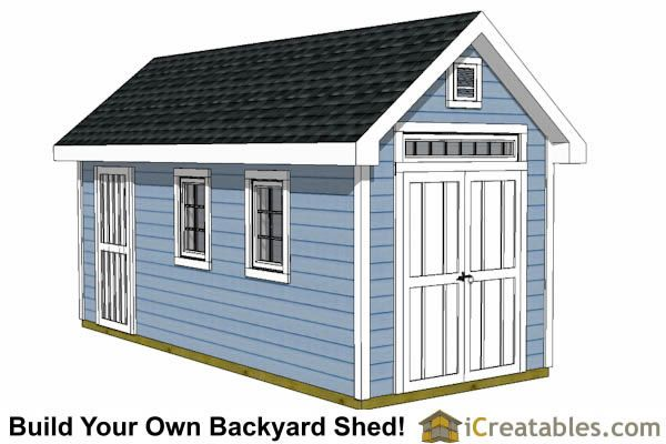 8x16 Traditional Victorian Style Storage Shed Plans | Tiny House Living  Ideas And Plans | Pinterest | Victorian, Traditional And Storage
