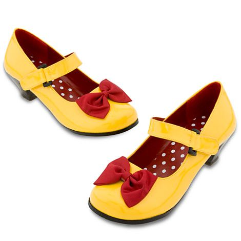 82c611d490ed Minnie Mouse Costume Shoes for Women - Yellow | Costume Accessories |  Disney Store