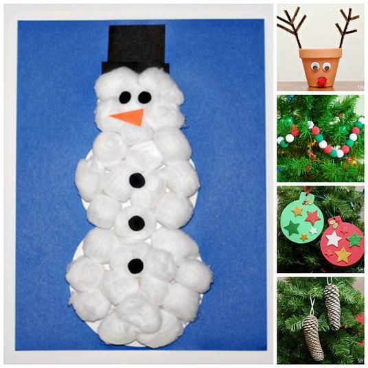 Snowman Craft And Other Easy Christmas Crafts For Kids