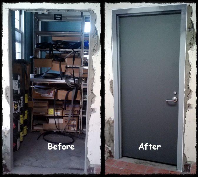 Salem Va Medical Center Salem Va New Mesker Door Brand Hollow Metal Frame And Hollow Metal Door Hinges Ingers Hollow Metal Doors Metal Door Locker Storage