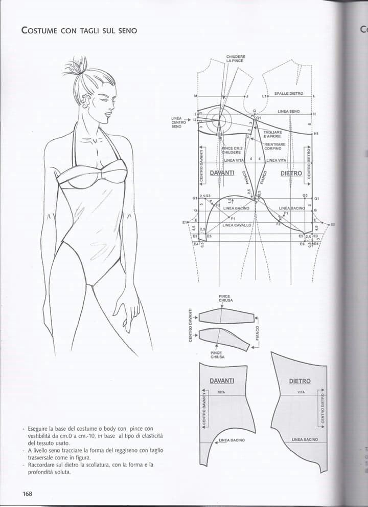 Pin de alice brandt en patroontekenen lingerie | Pinterest ...
