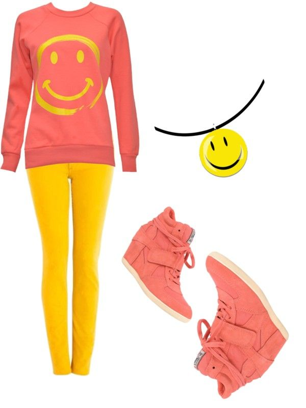 """""""Smile"""" by mlsilva ❤ liked on Polyvore"""