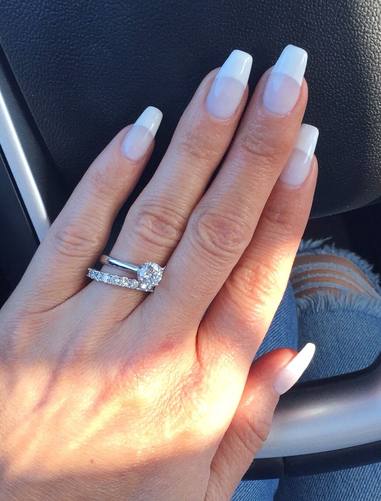 OPI\'s funny bunny #692 gel polish with white tips | Bling ...