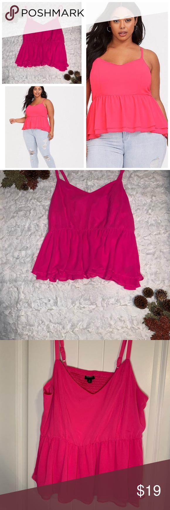 Neon Pink Stripe Jersey Crop Top   Black striped shirt, Crop shirt, Crop tops