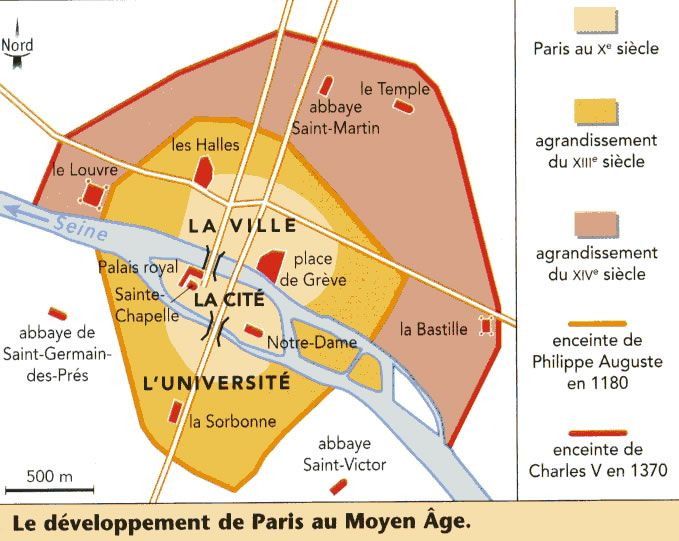 Plan Ville Royale Bourges