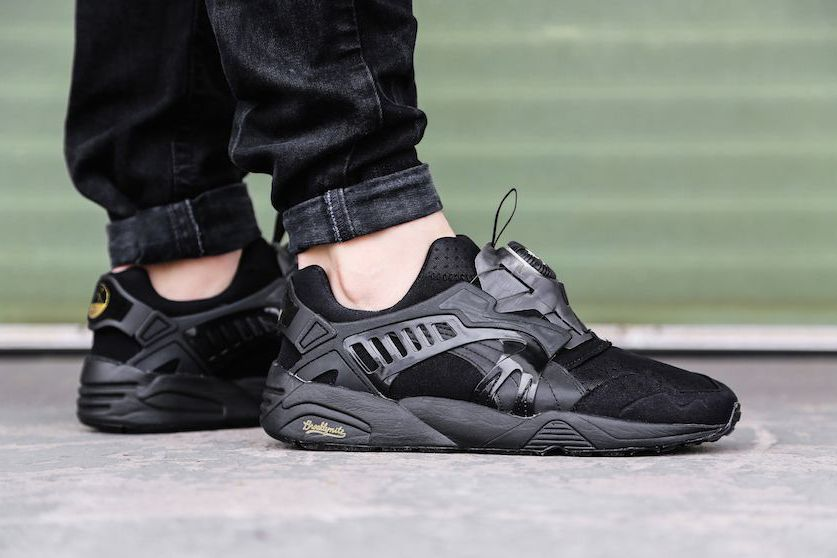 puma trinomic disc x noir
