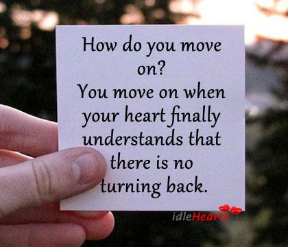 letting go and moving on from a bad relationship