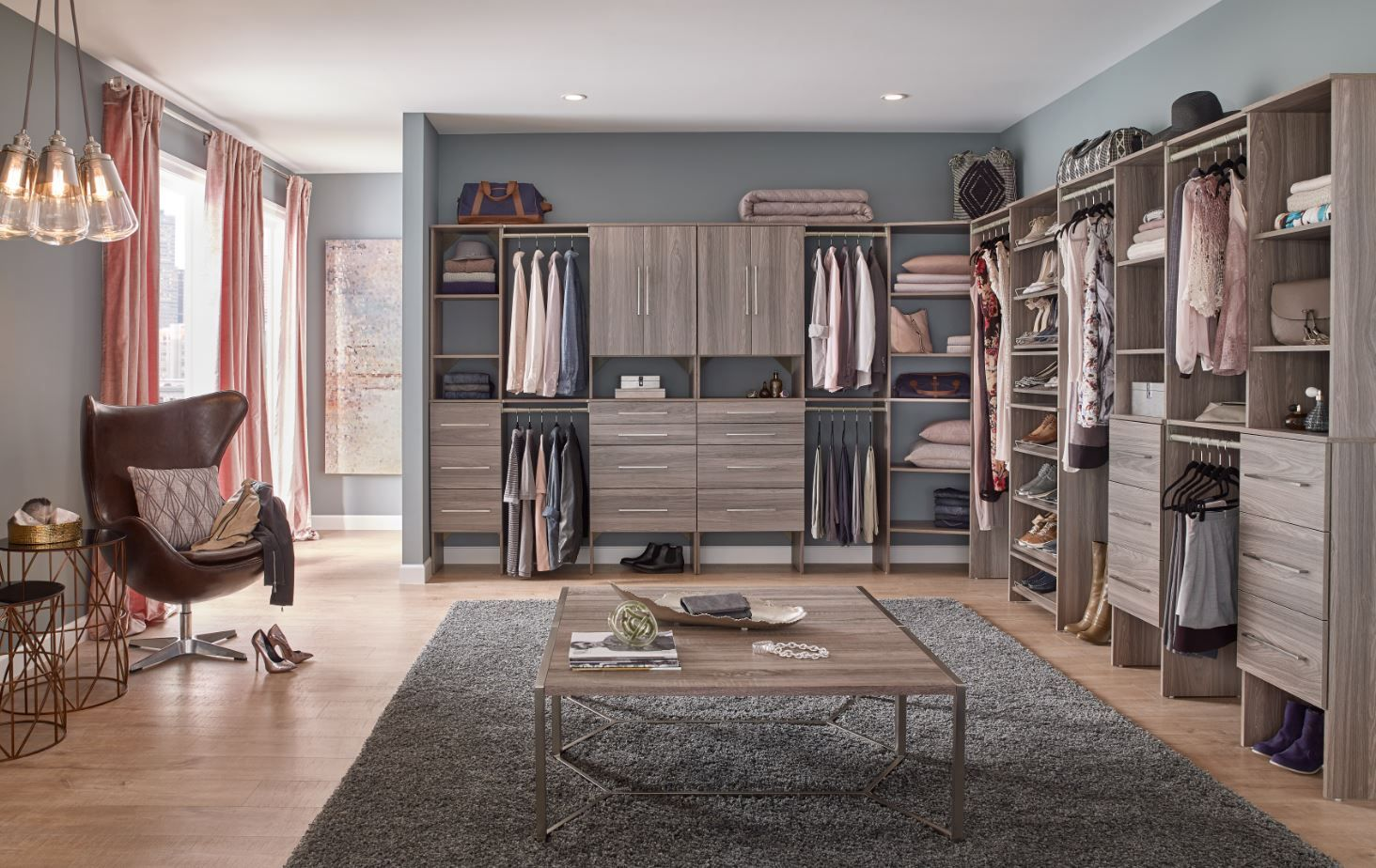Design your perfect walkin closet with a SuiteSymphony