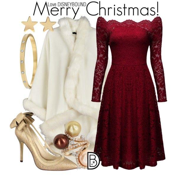 Disney Bound - Merry Christmas - Disney Bound - Merry Christmas Cute Dream Clothes I Want