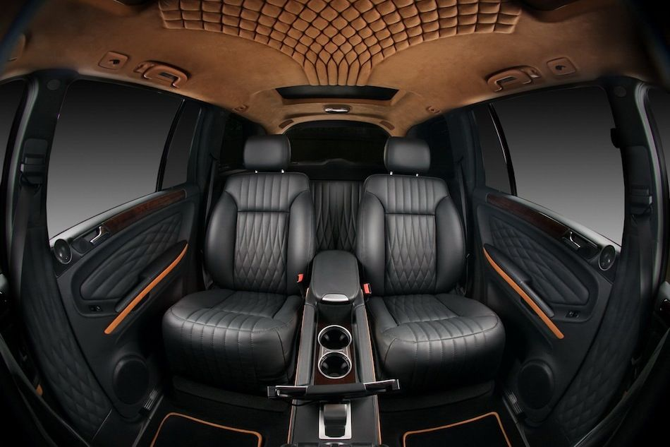 Vilner Mercedes Benz Gl Rear Captain Seats Interiores De Coches