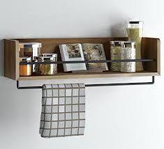 Resultado de imagen para wood and metal wall shelf