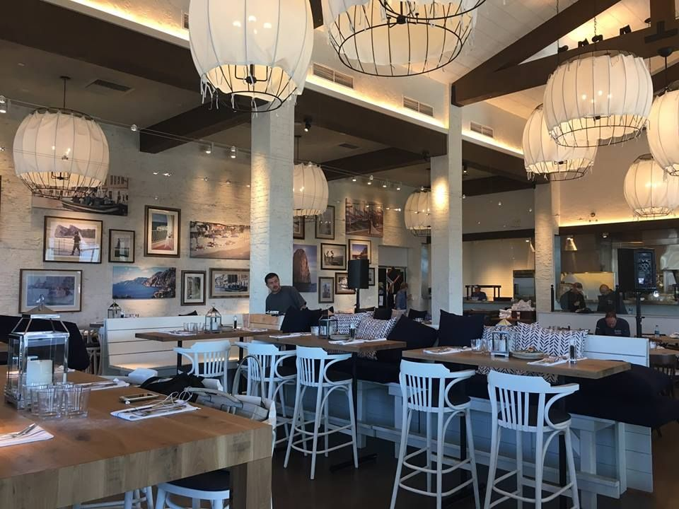 Beautiful Indoor Seating At Brio Coastal Bar And Kitchen