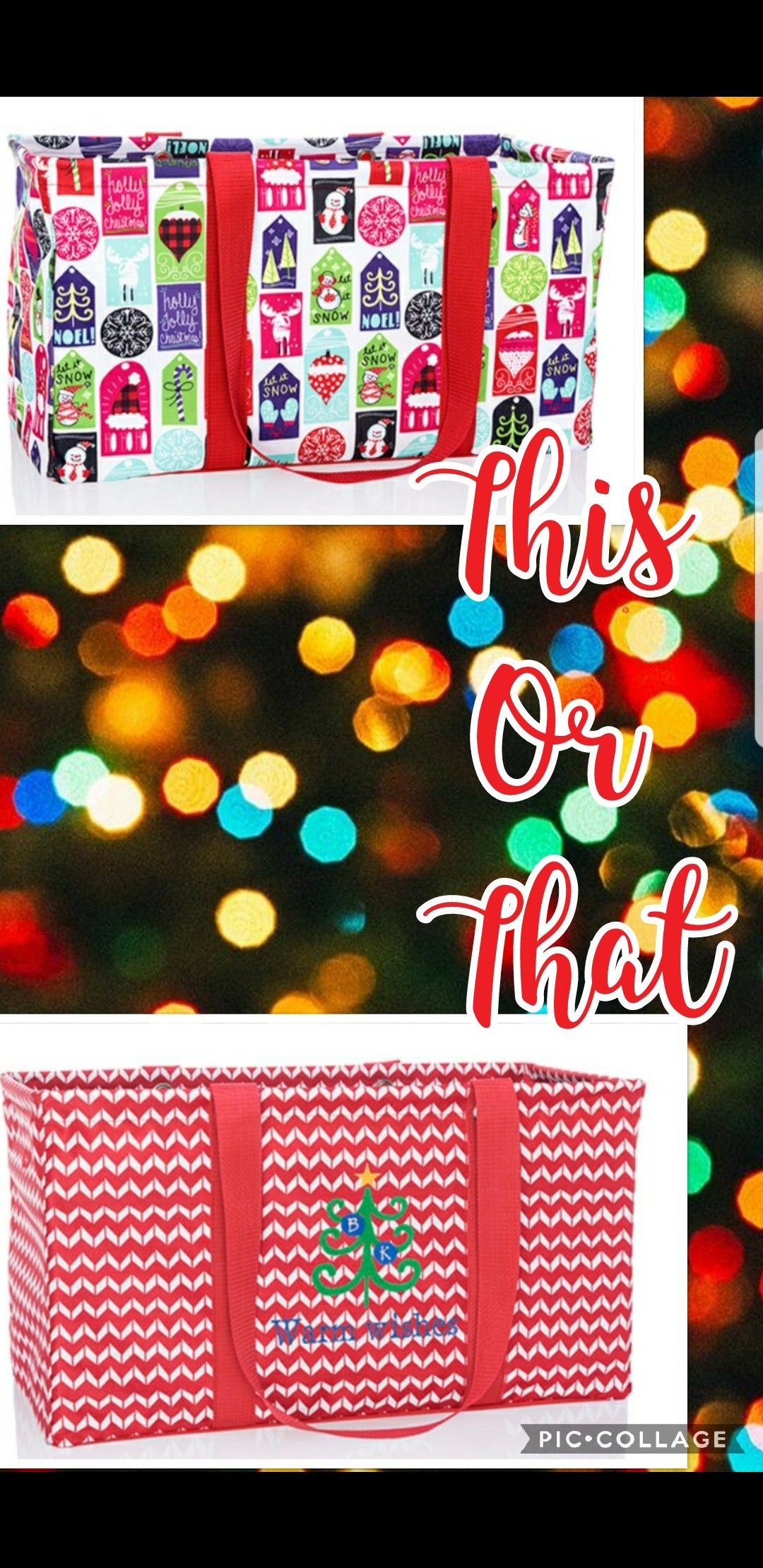 This Or That Thirty One Holiday Gift Guide Large Utilty Tote