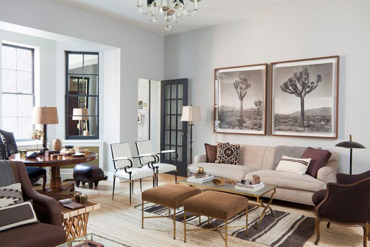 Earth Tone Living Room With Modern Furniture For Small Houses Best Gray Paint Living Room Designs Living Decor