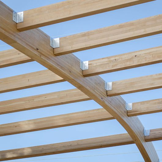 Wood Accoya Wood For Structural Applications Accoya Wood Beams Wood Wood Roof