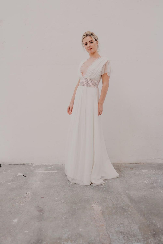 Phoebe Caroline Quesnel Lyon Robe de bouquetière