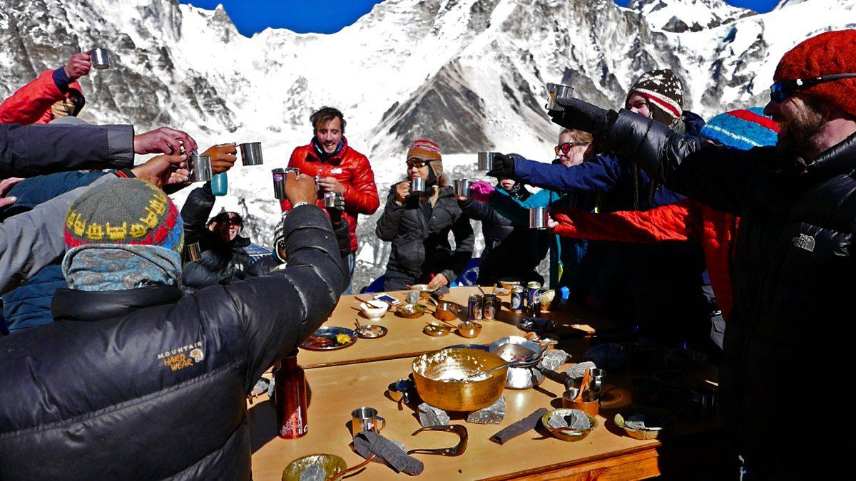 The Trials of Hosting a Dinner Party at the Top of the World