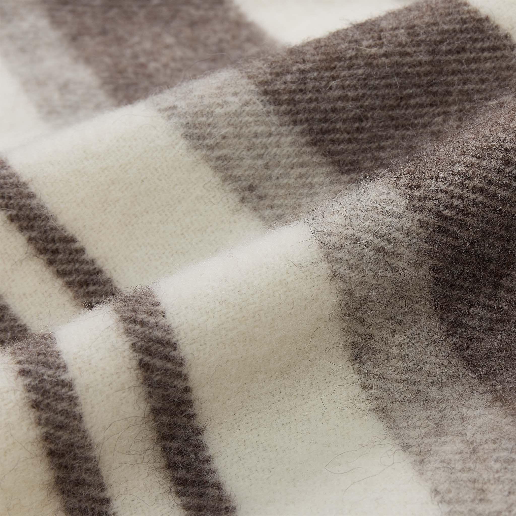 Decke Kampai Wolldecke Deckchen Und Farbe Grau