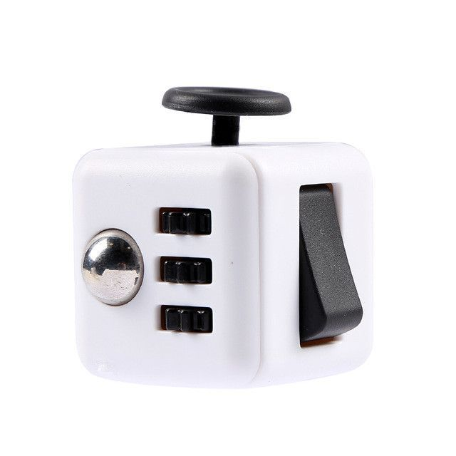 Squeeze Fun Stress Reliever Gifts Fidget Cube Relieves Toys and Anxiety Juguet For Adults Children Fidget Cube Desk Spin Toys
