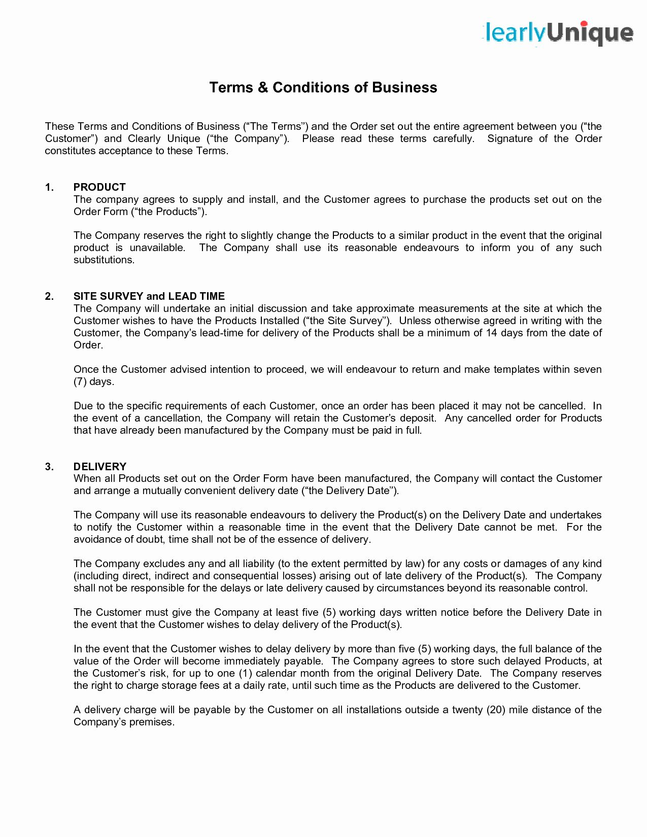 Terms Of Agreement Sample Awesome Terms And Conditions Template Professional Templates Business Template Agreement Artist terms and conditions template