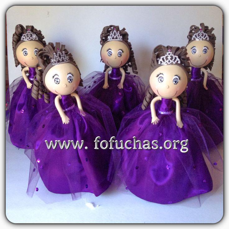 moldes para fofuchas quinceañeras - Buscar con Google | fofuchas ...