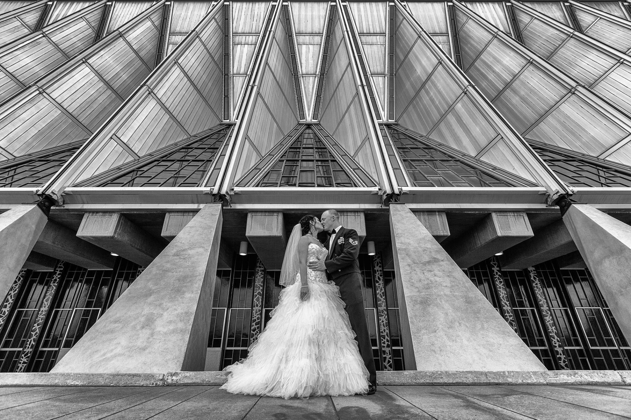 USAFA Wedding United States Air Force Academy Chapel