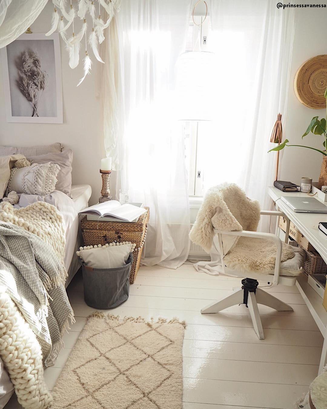 Natural Living   Rattan, Holz, Leinen & Co. in 2020   Zimmer einrichten, Tumblr zimmer ...