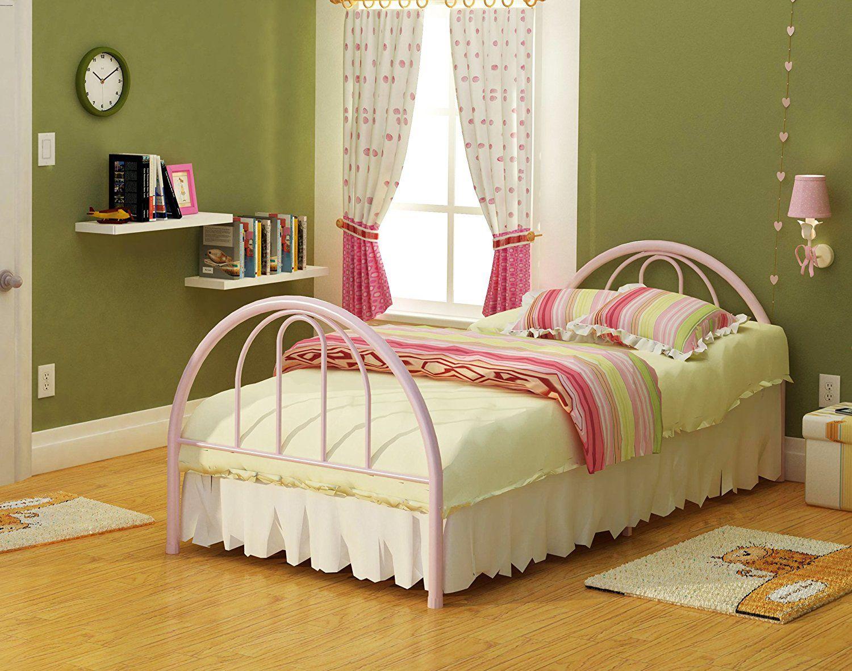 Rack Furniture New Haven Twin Bed,Pink | Creative Kids\' Room ...