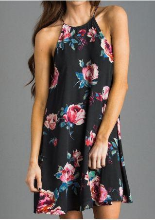 3726a45a3b01c Floral Spaghetti Strap Mini Dress | My Dream Closet in 2019 ...
