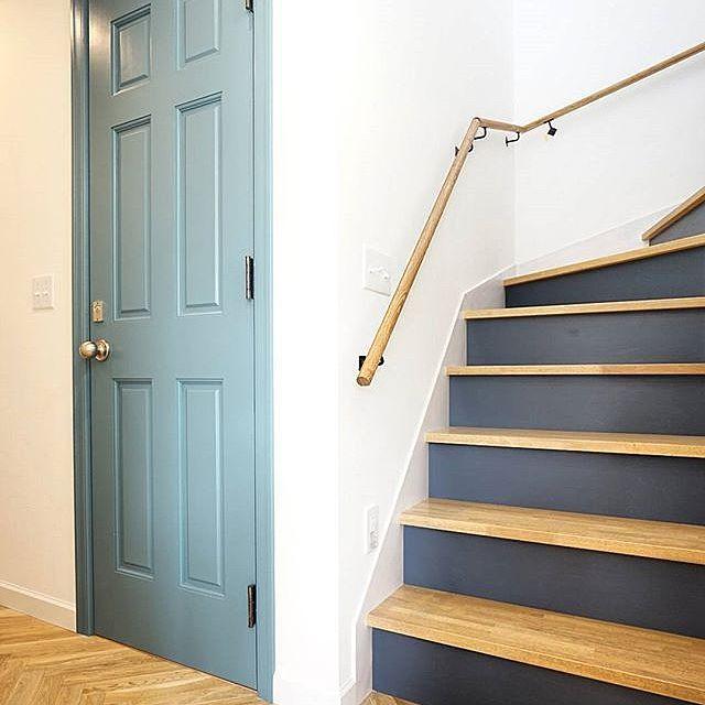 階段 ペンキ塗り バス トイレ トイレのドア アンティーク などの