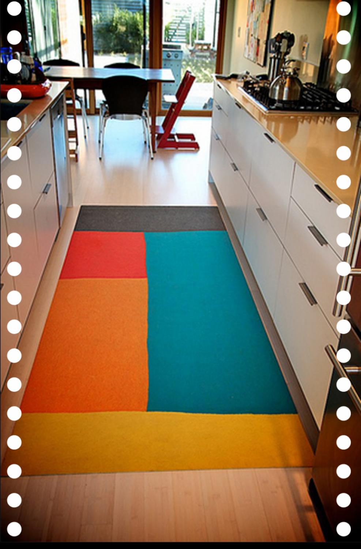 Bright Colored Kitchen Rugs Kitchen Decor Ideas On A Budget Check