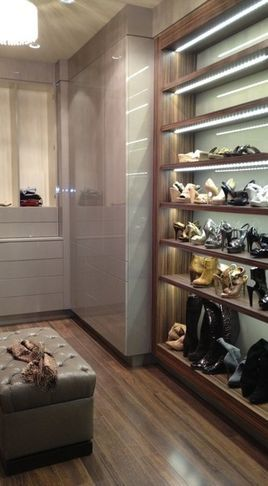 Gallery of Work contemporary closet organizers los