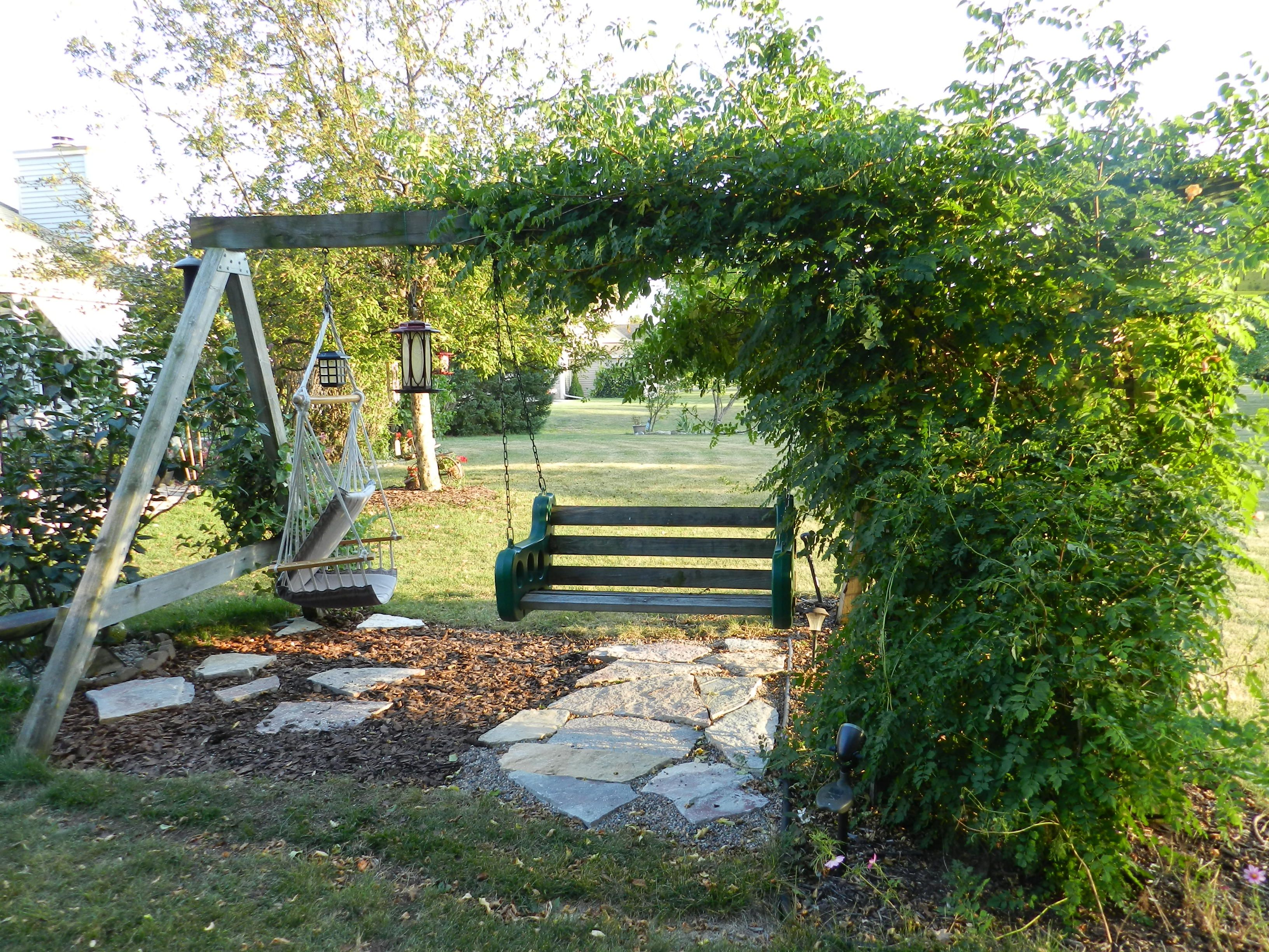 Save That Old Swing Set And Make It Yours.