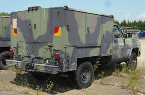 M1031 Contact Maintenance Truck  A 1 1/4 Ton, 4x4 Chevy